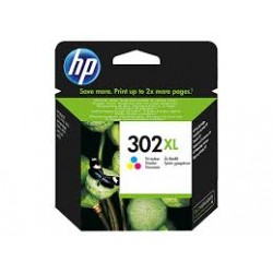 Cartuccia ORIGINALE HP OfficeJet 3800 F6U67AE HP 302XL COLORE