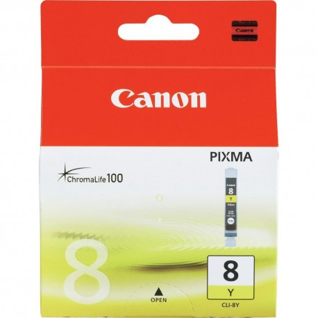 Cartuccia Compatibile CANON IP 4200  CLI-8Y CLI 8Y GIALLO