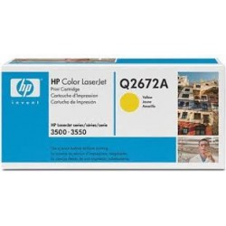 Toner COMPATIBILE HP COLOR LASERJET 3500 3550 3700 Q2672A GIALLO