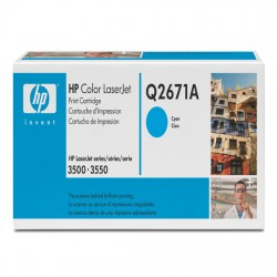 Toner COMPATIBILE HP COLOR LASERJET 3500 3550 3700 Q2671A CIANO