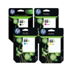 Cartuccia ORIGINALE HP OFFICEJET PRO K550 C9391A 88XL CIANO