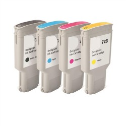 CARTUCCIA COMPATIBILE HP 728Y F9J65A GIALLO Designjet T730,T830 130ML