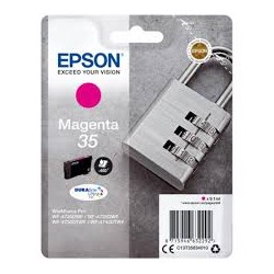 Cartuccia ORIGINALE EPSON 35 C13T35824010 T3482 CIANO Workforce Pro WF-4700